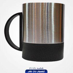 لیوان فلزی